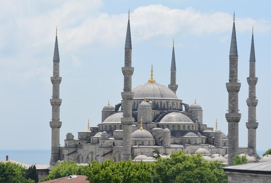 Путешествие в Турцию из Киева. Стамбул. Голубая Мечеть