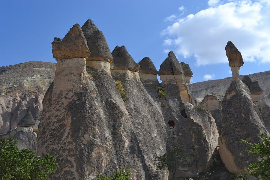 Путешествие в Турцию. Каппадокия. Скальные образования