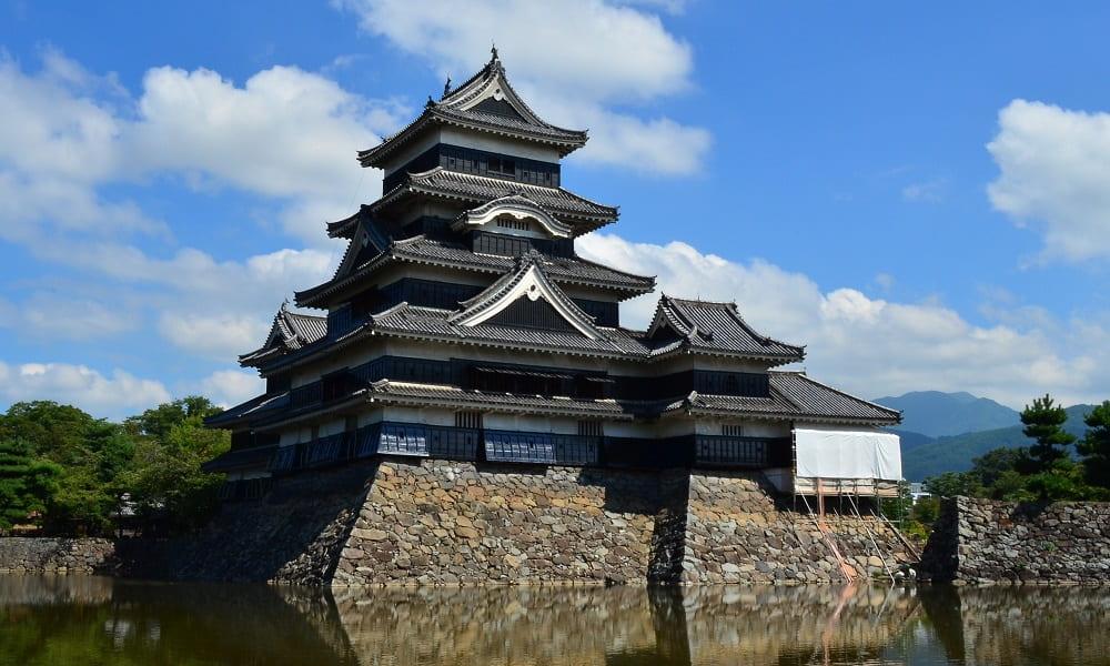 Путешествие в Японию. Мацумото. Замок Мацумото