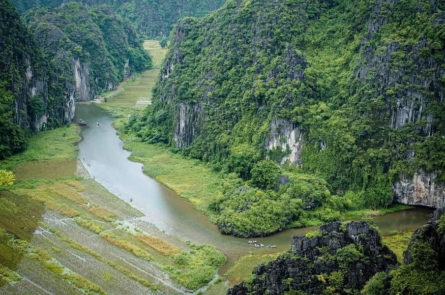 Путешествие во Вьетнам. Ниньбинь фото