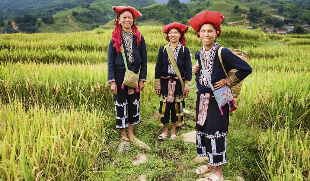 Путешествие во Вьетнам. Сапа.  Женщины местных народностей