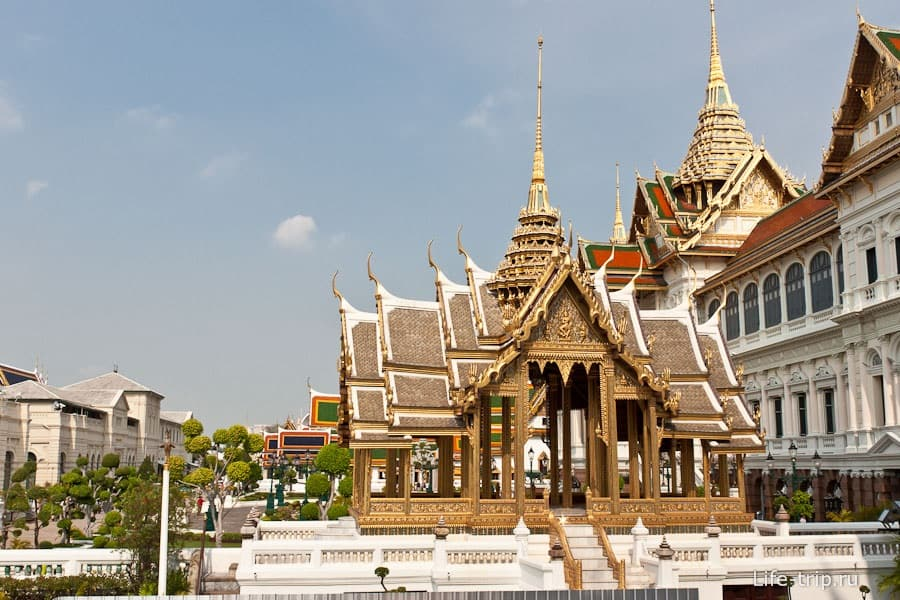 Путевка в Тайланд. Бангкок. Королевский дворец