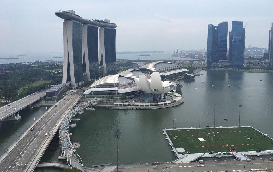 Сингапур туры. Фото Марина Бэй