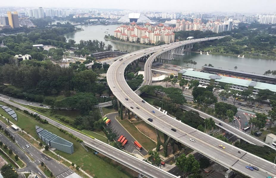 Сингапур туры. Вид из отеля