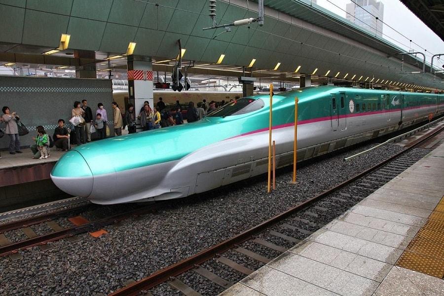 Поездка в Японию. Скоростной поезд синкансен