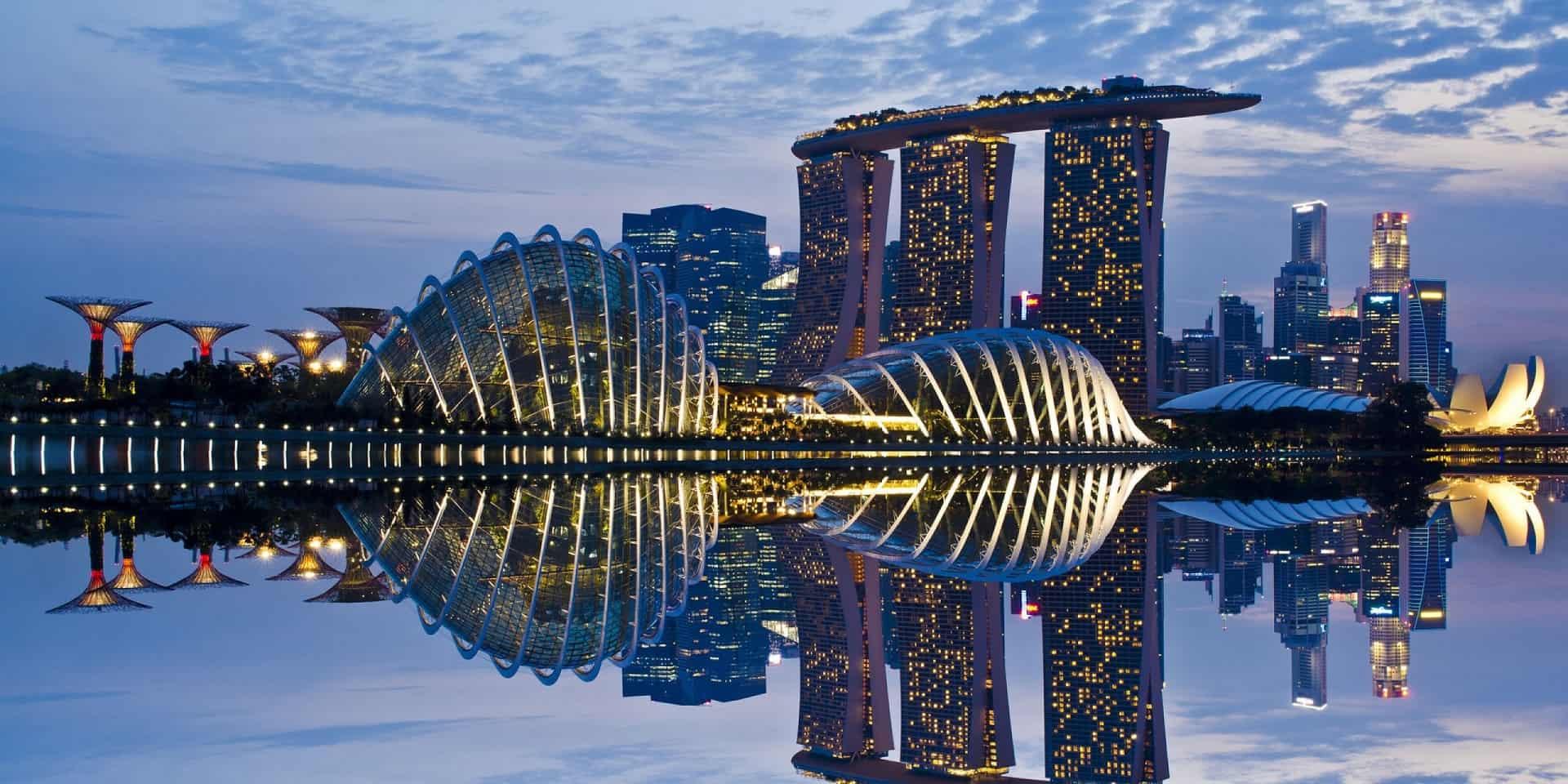 Тур в Сингапур. Марина Бэй