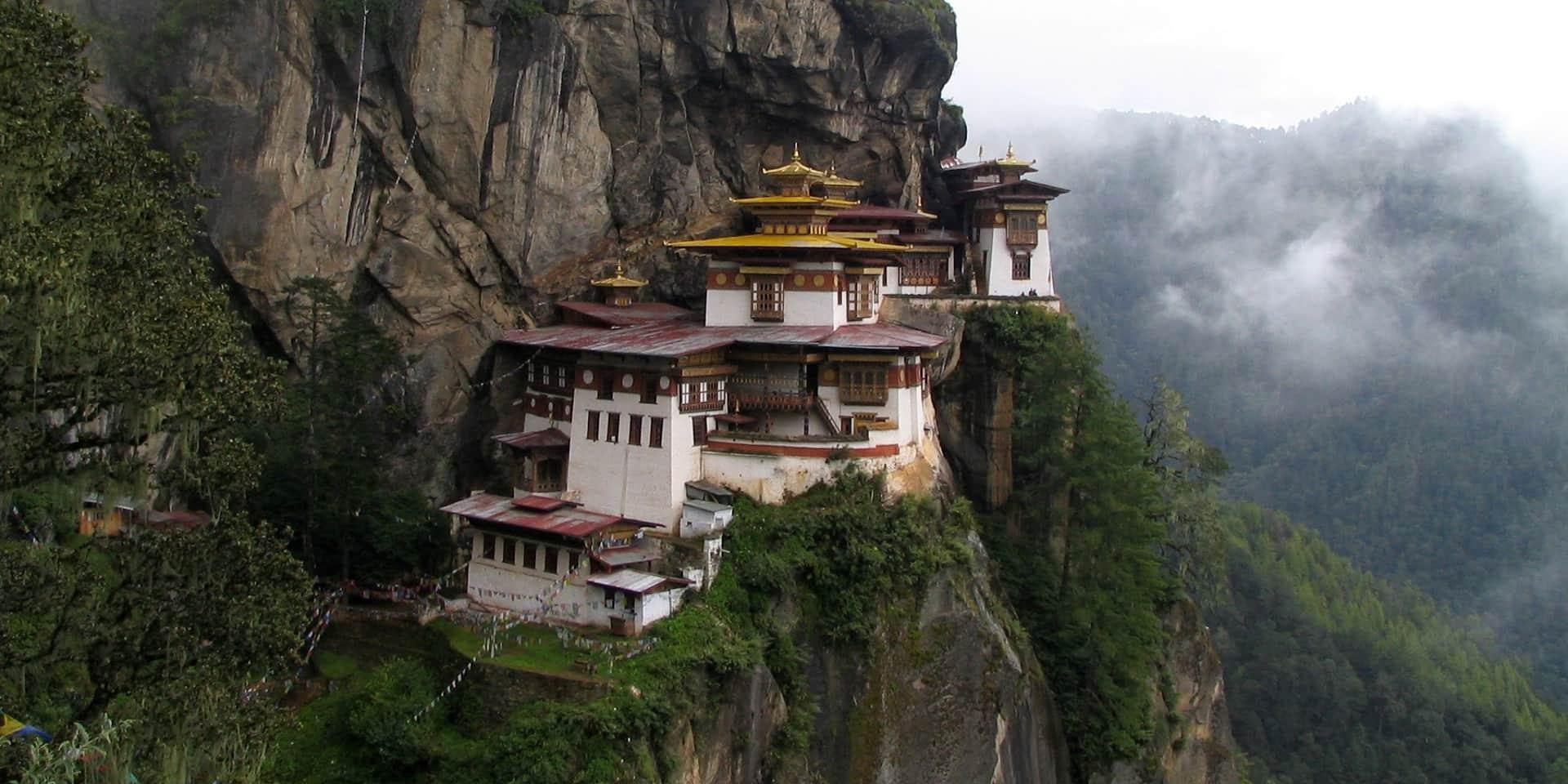Тур в Бутан. Храм гнездо тигрицы фото