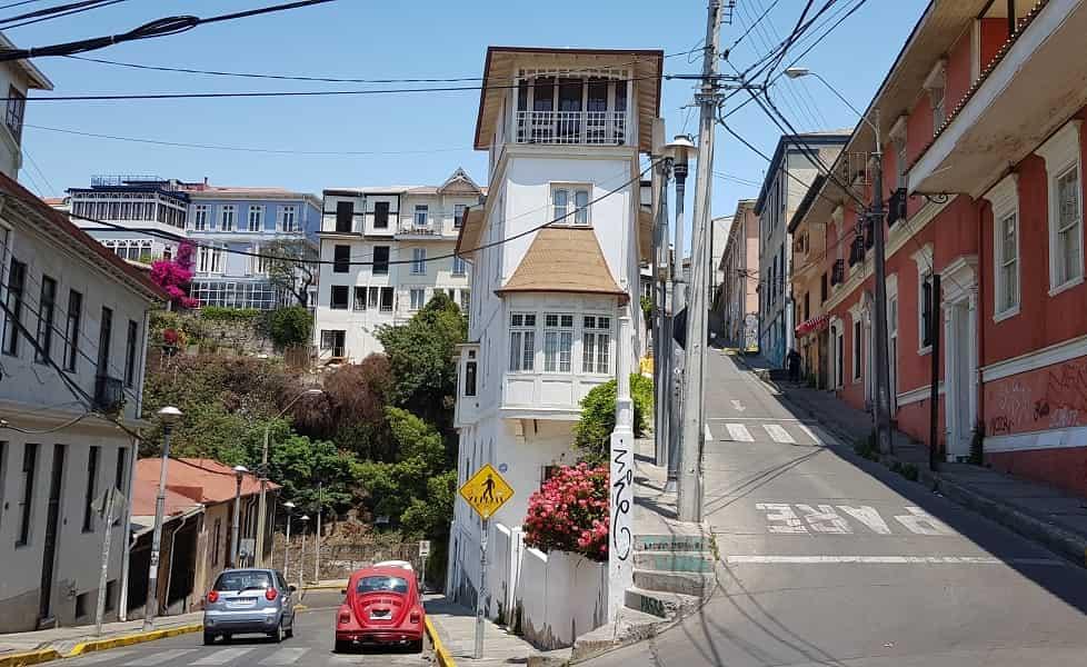 Туры в Чили. Город Вальпараисо