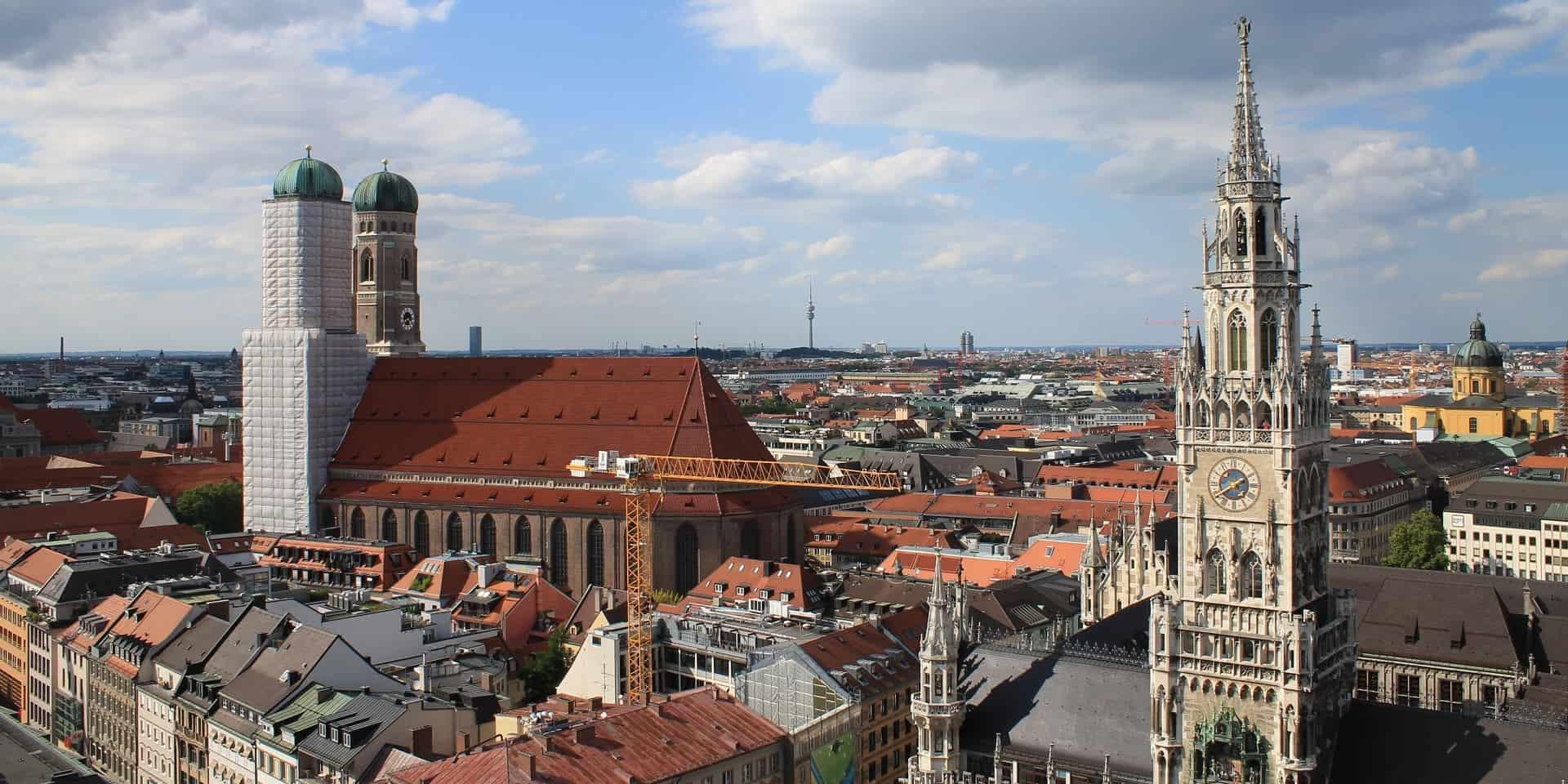 Тур в Германию. Город Мюнхен фото