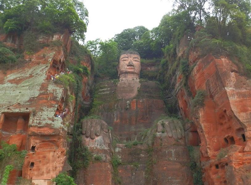 Тур в Китай. Эмэйшань. Будда Дафо