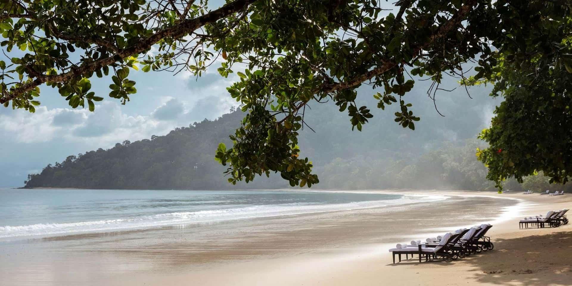 Тур в Малайзию. Лангкави. Пляж