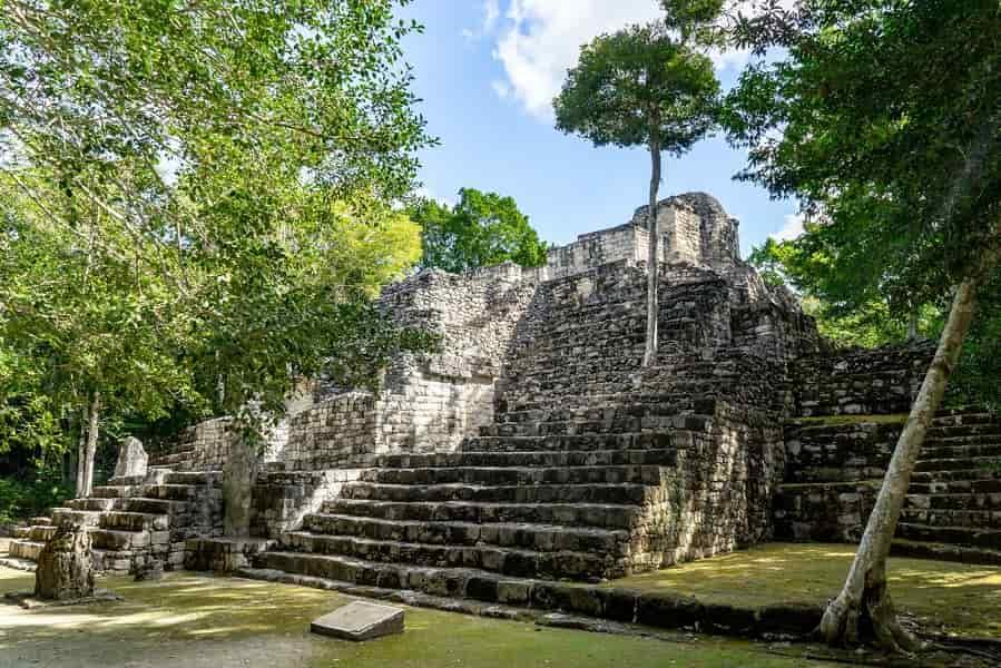 Поездка в Мексику. Калакмуль