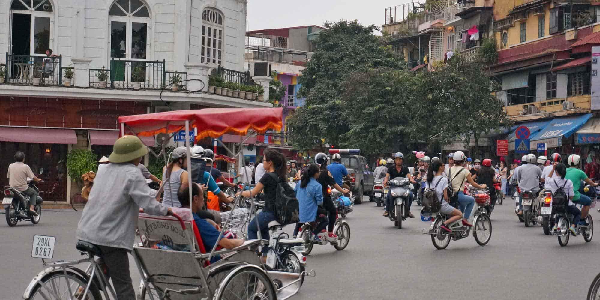 Поездка во Вьетнам. Экскурсия по Ханою