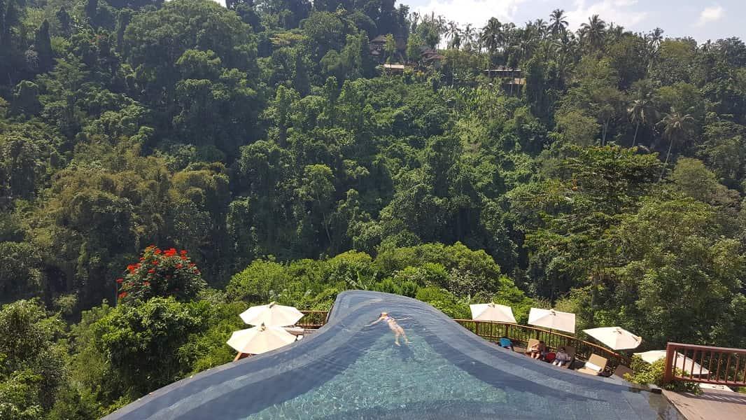 Туры на Бали. Виды из отеля в Убуде