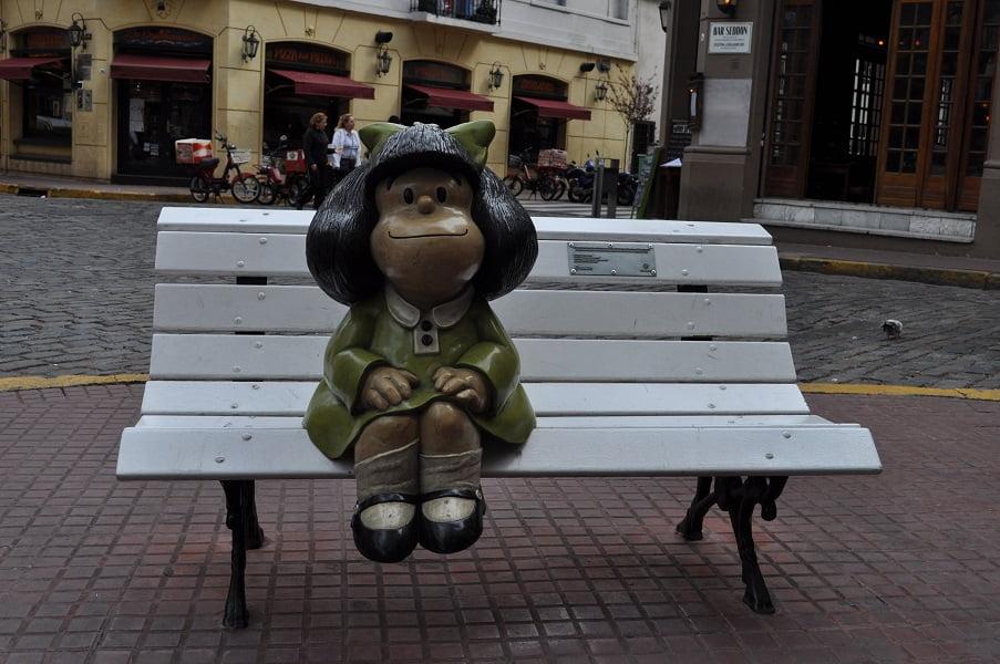 Туры в Аргентину. Буэнос Айрес. Девочка для фото