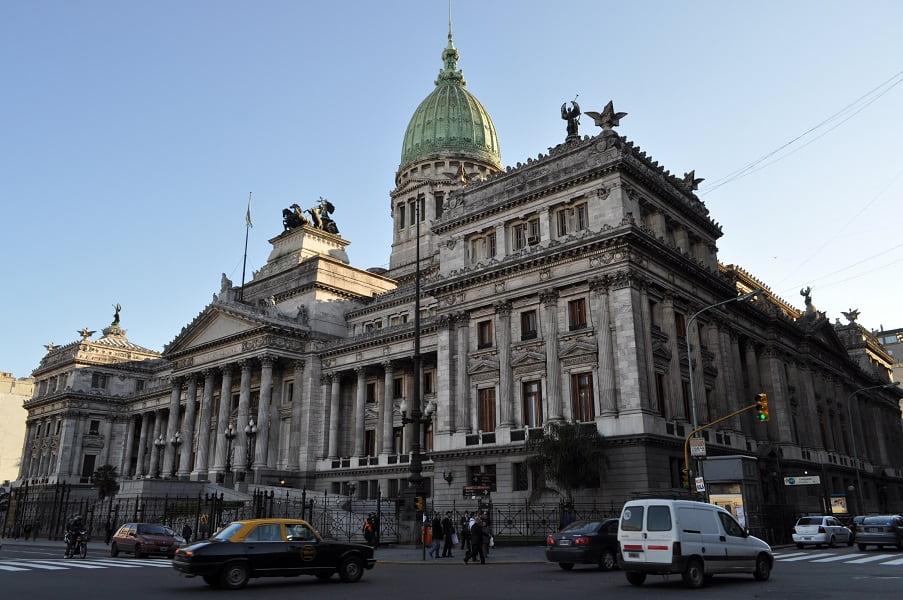 Туры в Аргенти. Буэнос Айрес. Дворец Национального конгресса