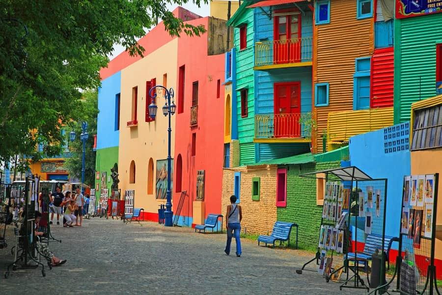 Туры в Аргентину. Буэнос Айрес. Район Ла Бока фото