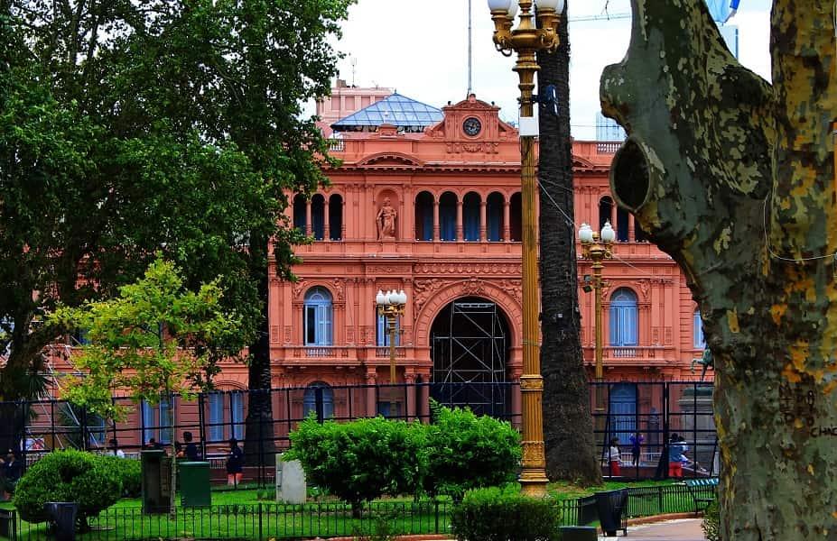 Туры в Аргентину. Буэнос Айрес. Розовый дом