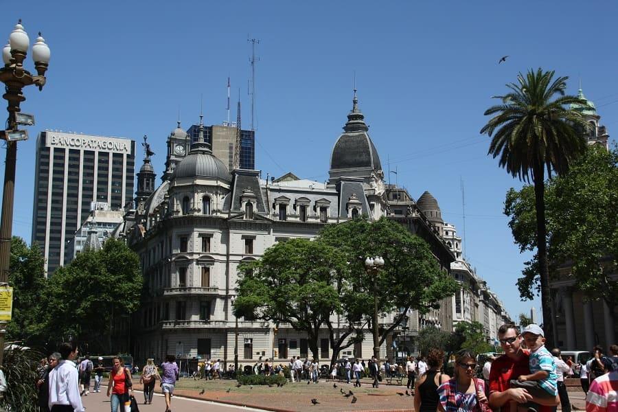 Туры в Аргентину. Буэнос Айрес центральная площадь