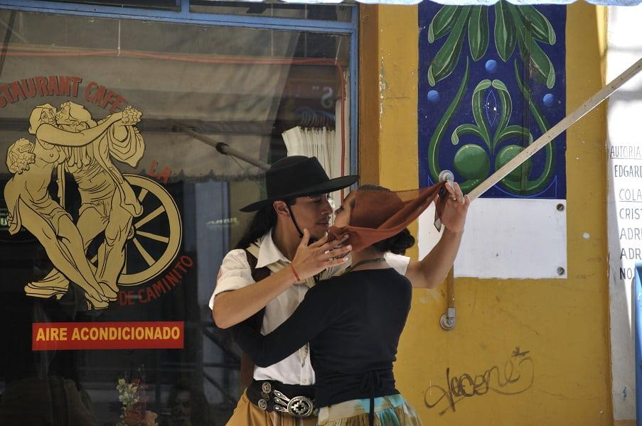 Туры в Аргентину. Буэнос Айрес. Уличные танцоры