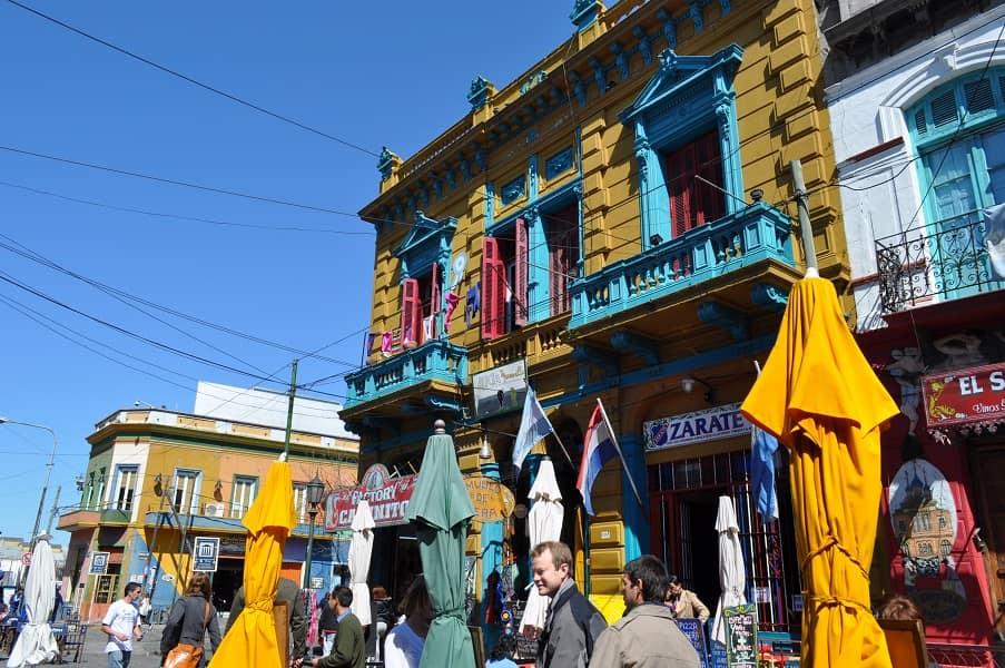 Туры в Аргентину. Буэнос Айрес. Улица Каминито