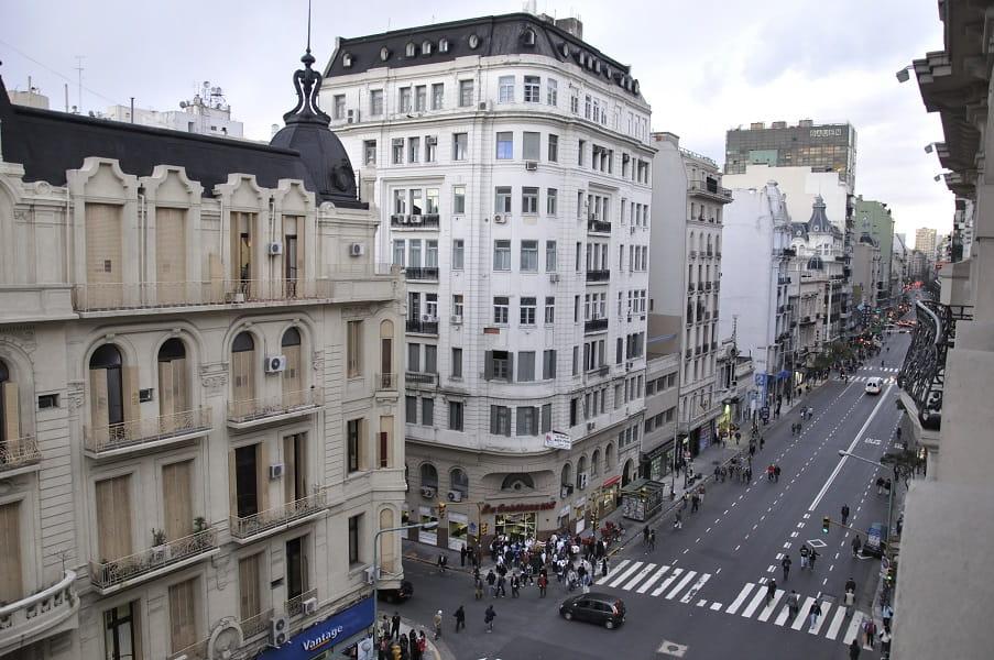Туры в Аргентину. Буэнос Айрес. Вид из окон отеля