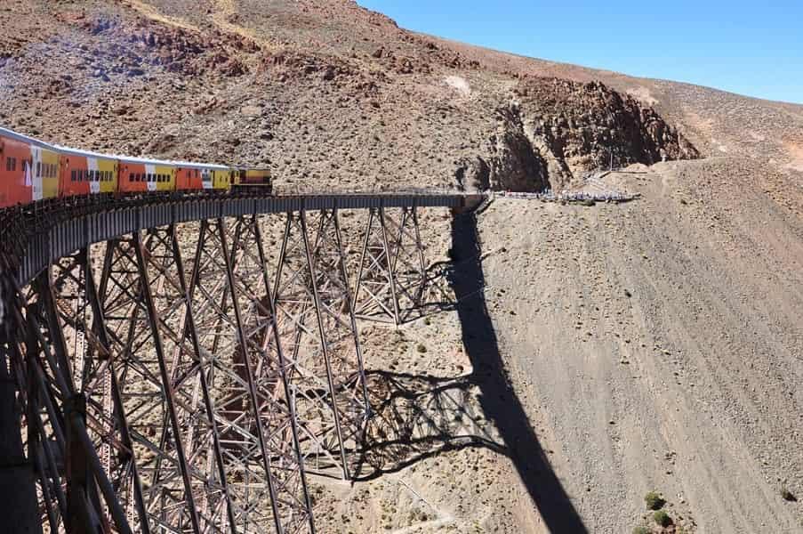 Туры в Аргентину. Сальта. Поезд в облака в пути