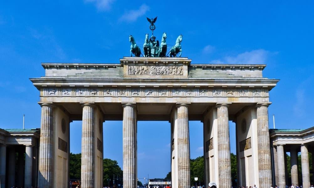 Туры в Берлин из Киева. Фото Бранденбургских ворот