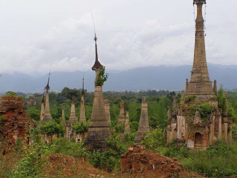 Туры в Бирму. Озеро Инле. Комплекс Инн Дейн