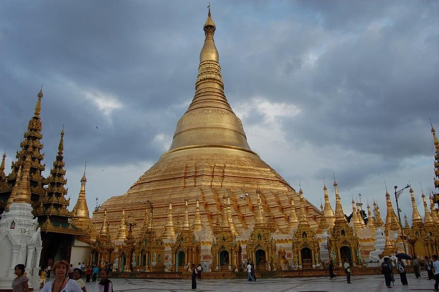 Туры в Бирму. Пагода Шведагон в Янгоне