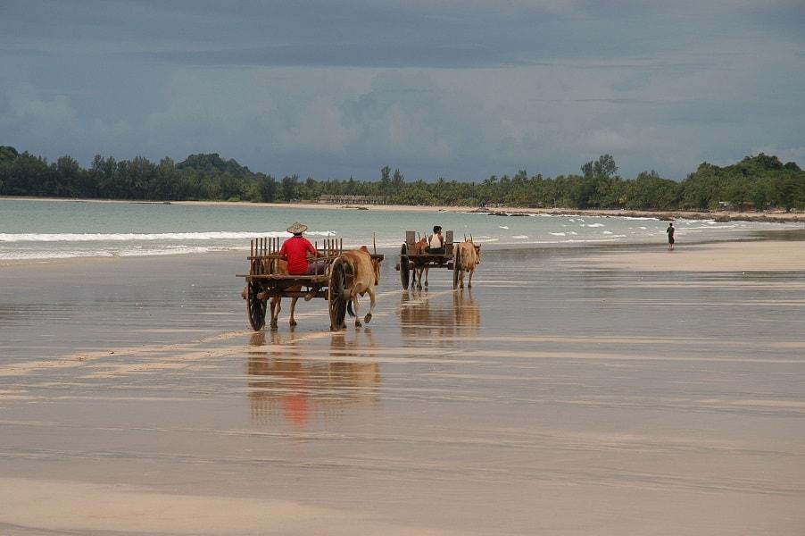 Туры в Бирму. Пляж Нгапали