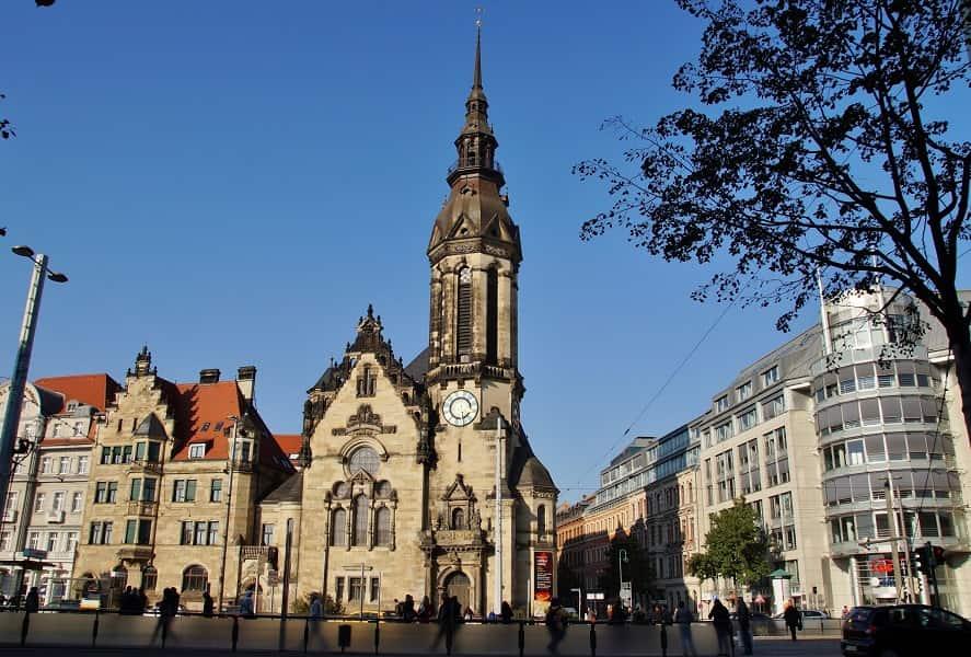 Туры в Германию из Украины. Лейпциг. Исторический центр