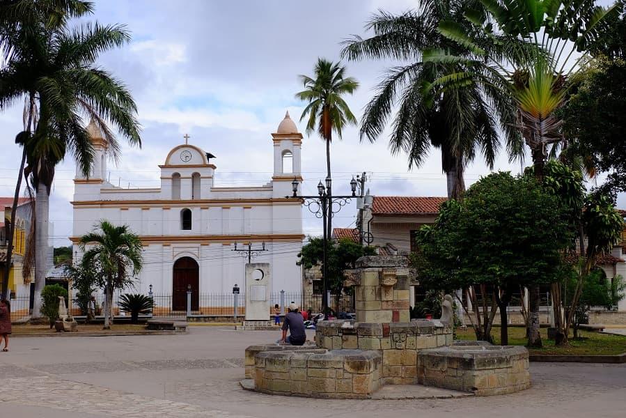 Туры в Гондурас. Городок Копан. Церковь