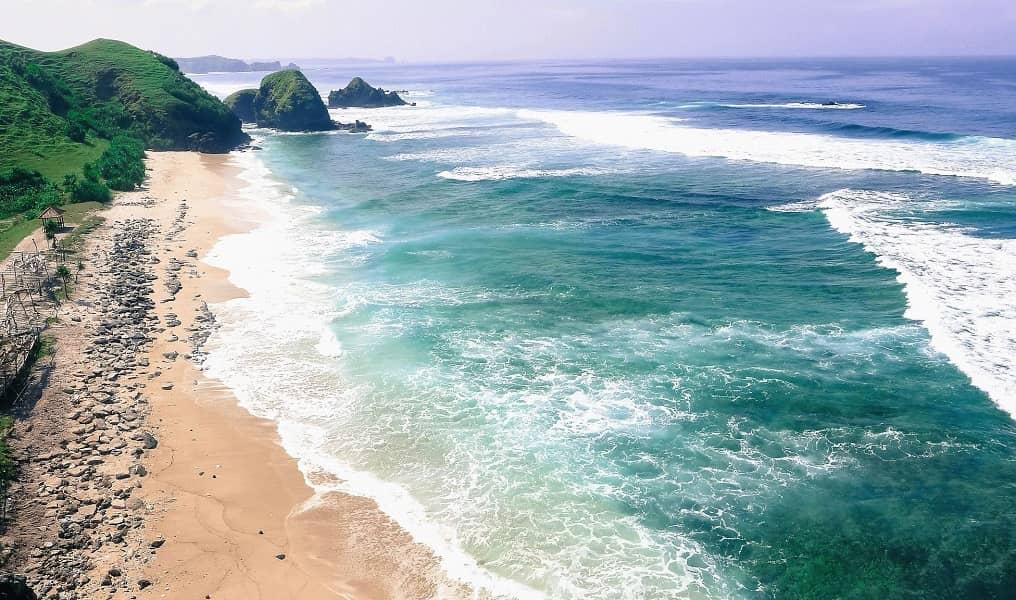 Туры в Индонезию. Остров Ломбок. Пляж