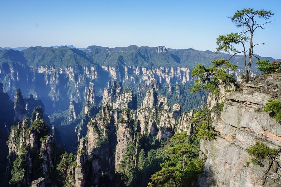 Туры в Китай. Чжанцзяцзе. Каньон