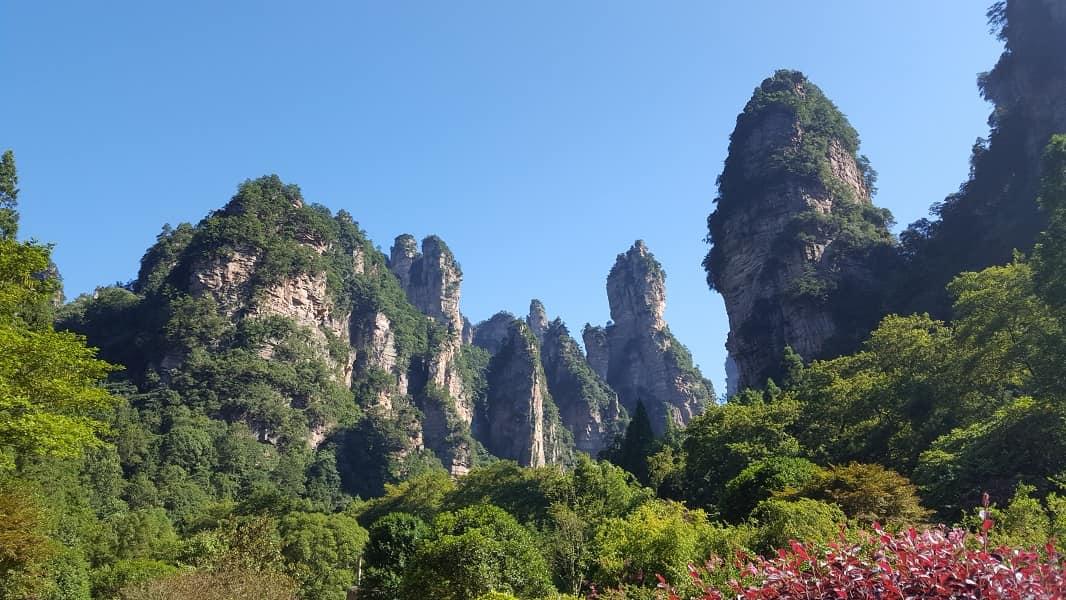 Туры в Китай. Чжанцзяцзе. Ущелье