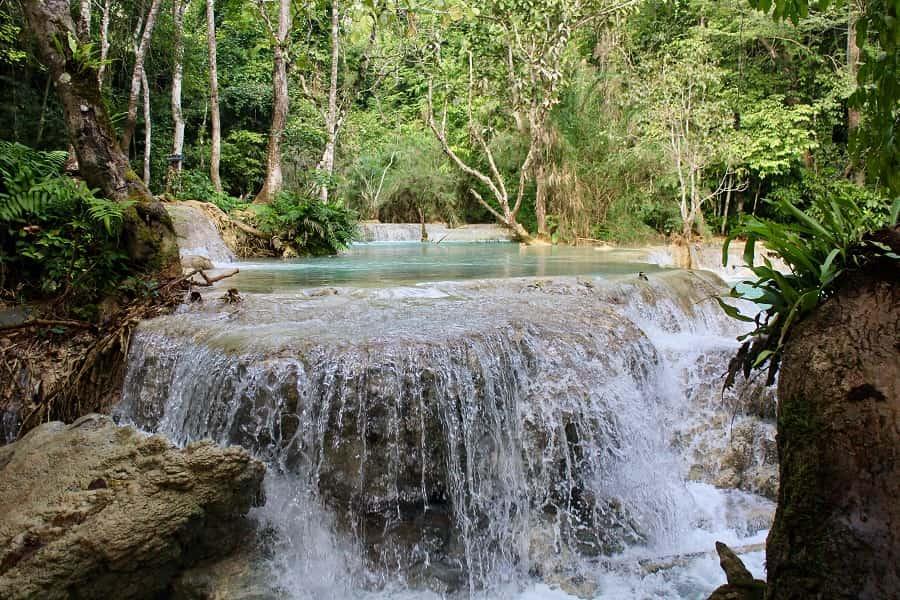 Туры в Лаос. Водопад Тад Са