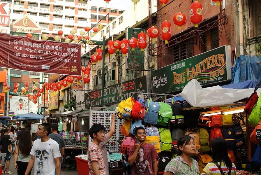 Туры в Малайзию. Куала Лумпур. Уличная суета