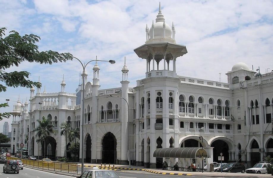 Туры в Малайзию. Куала Лумпур. Железно дорожный вокзал