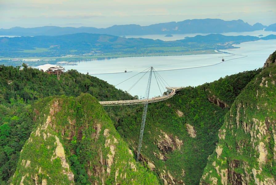 Туры в Малайзию. Лангкави. Подвесной мост