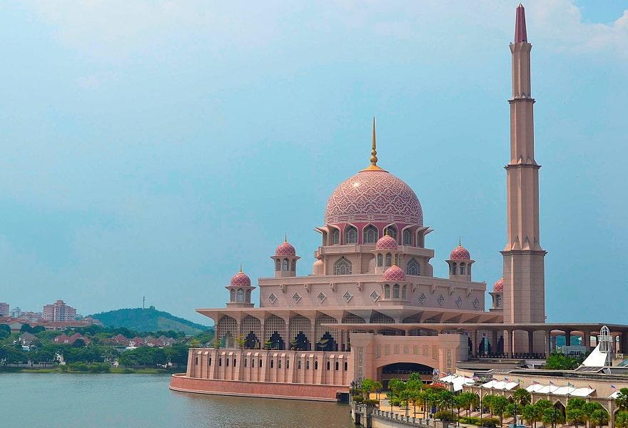 Туры в Малайзию. Путраджайя. Мечеть фото