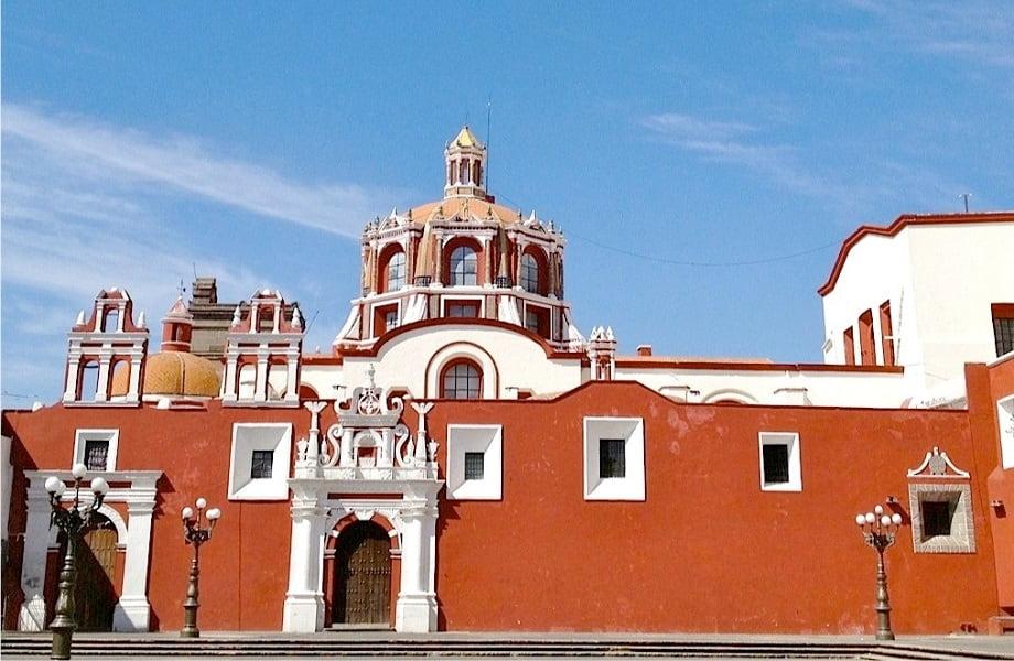 Туры в Мексику. Пуэбла. Церковь Сан Доминго фото