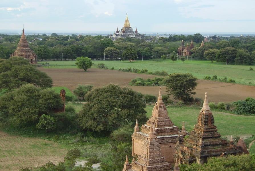 Туры в Мьянму. Археологическая зона Багана