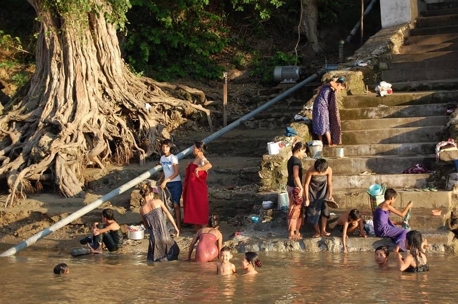 Туры в Мьянму. Баган. Река Иравади