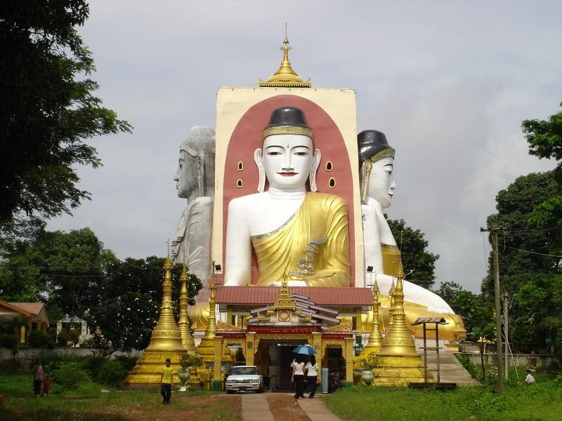 туры в Мьянму. Баго. Сидящие Будды