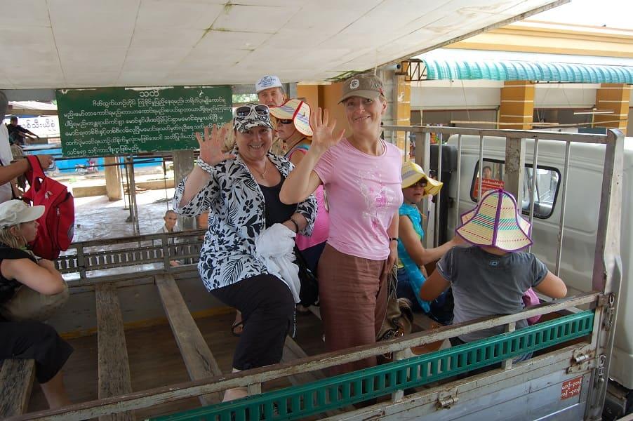 Туры в Мьянму. Дорога до Золотого камня фото