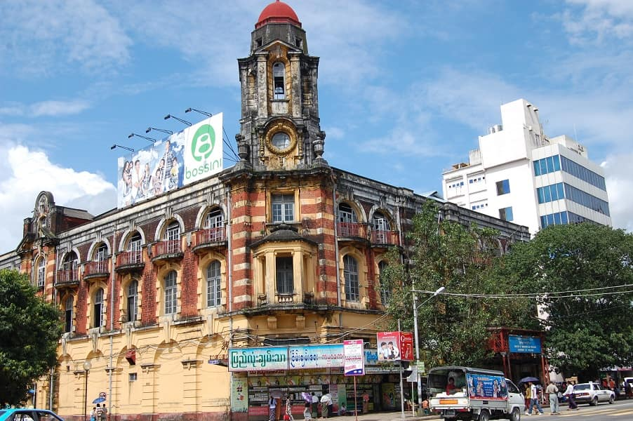Туры в Мьянму. Коллониальный центр Янгона