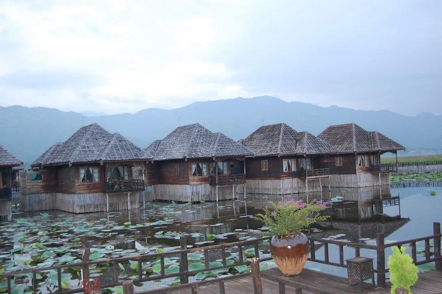 Туры в Мьянму. Отель на озере Инле