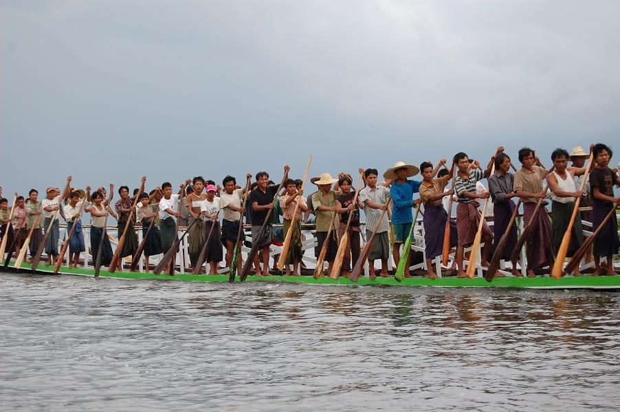 Туры в Мьянму. Озеро Инле. Праздник на воде