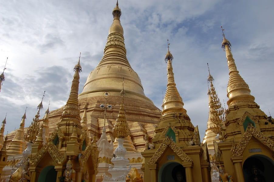 Туры в Мьянму. Янгон. Пагода Шведагон